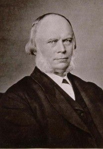 Portrait d'Edouard von Moeller, président supérieur d'Alsace et de Lorraine (1871-1879), 1884 (Phot. et coll. BNU Strasbourg)