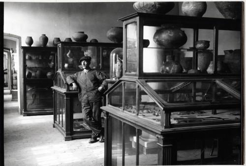 Vue d'une salle du Musée préhistorique et gallo-romain (Phot. Musée archéologique de Strasbourg)