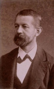 Portrait de Julius Euting, 1880 (Phot. et coll. BNU Strasbourg)
