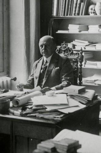 Portrait de R. Forrer. S.n., 1917 (Phot. Musées de Strasbourg)