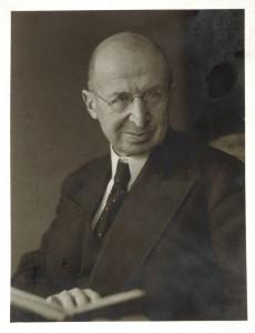 Portrait d'E. Polaczeck. Auteur : Knapp, 1938 (Phot. Musées de Strasbourg)