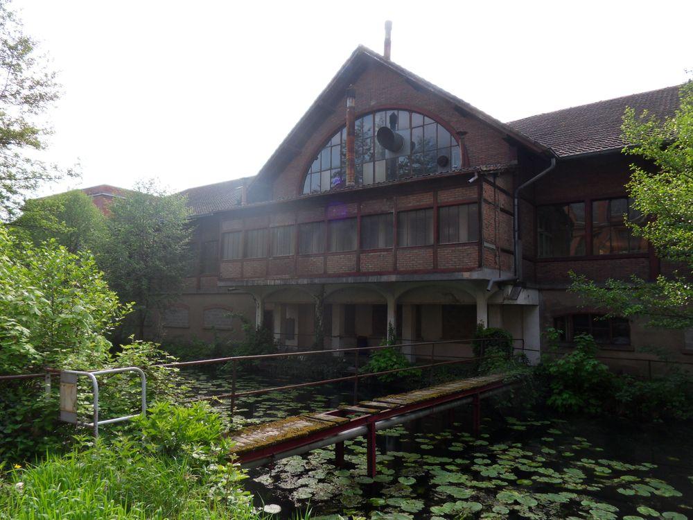Le réfectoire, vue d'ensemble de la façade Nord, auteur : Claire Hirstel, 2013 ( (c) DRAC Alsace)